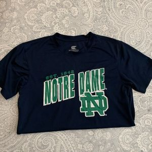 Norte Dame Dry Fit t-shirt